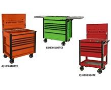 "EXTREME TOOLS® EX SERIES 33"" & 41"" SLIDING AND FLIP TOP TOOL CARTS"