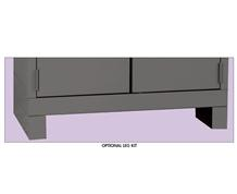LEG KITS FOR DURATOUGH™ ALL-WELDED CABINETS