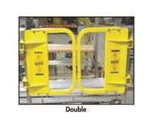 DOUBLE SELF-CLOSING SWING GATES